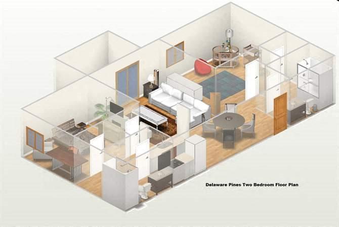 Floor Plans Of Delaware Pines Apartments In Huntington Beach Ca