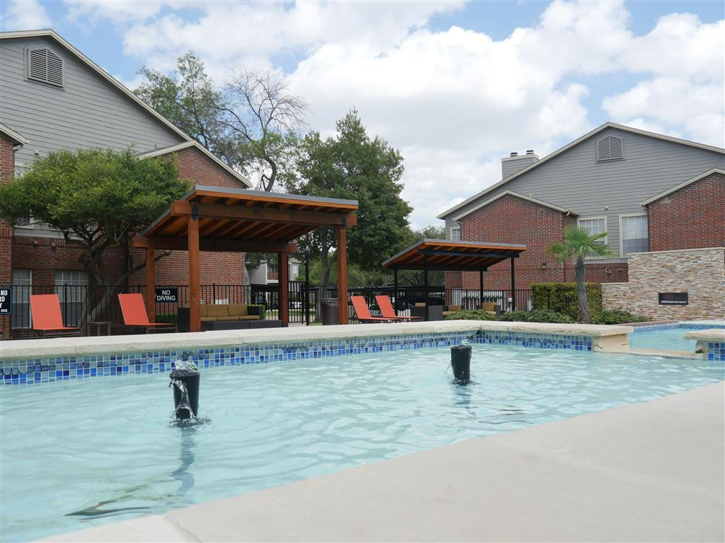 Sparkling Swimming Pools at Veridian Place, Dallas, TX, 75289