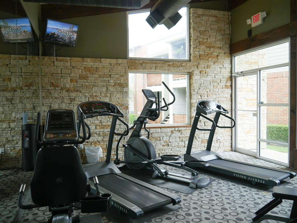 Fully Equipped Fitness Center at Veridian Place, TX