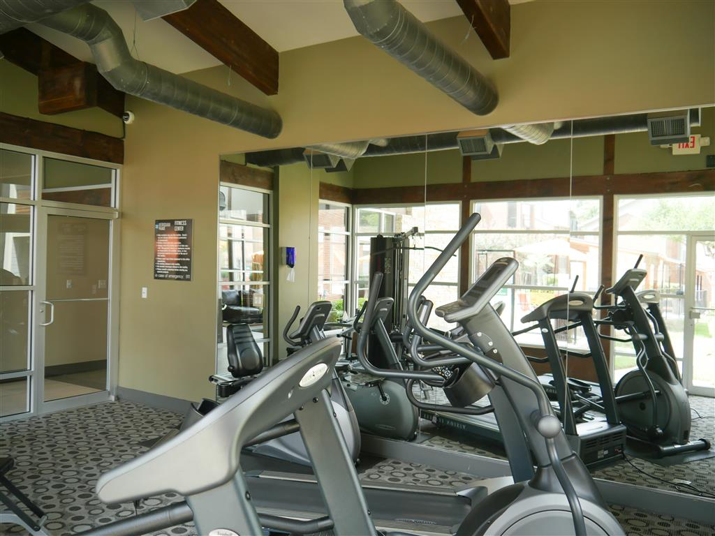 Fitness Center available at Veridian Place , Dallas, TX