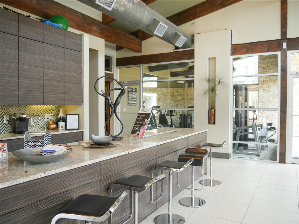 Complimentary Coffee Bar available at Veridian Place, Dallas, TX