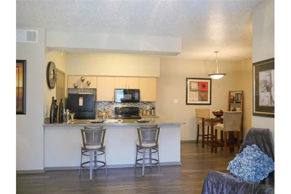 Wood-Style Floors, at Veridian Place Apartment Homes, TX 75287