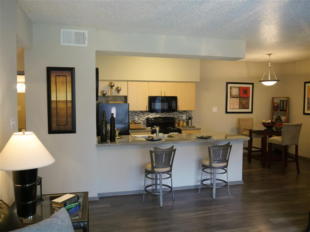 Over-the-Range Microwaves in Kitchen At Veridian Place,4849 Haverwood Lane,Dallas, TX, 75289