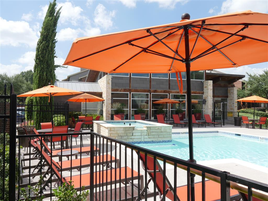 Resort-Style Pool Lounge Chairs available near Swimming Pools at Veridian Place, TX, 75289