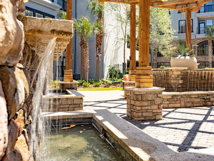 Zen Garden waterfall view