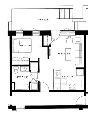 One Bedroom Garden P2