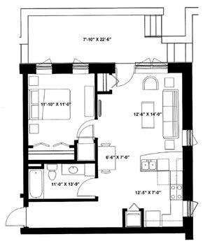 One Bedroom Garden P3