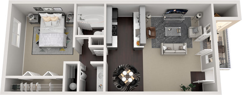 The Cottonwood Floor Plan