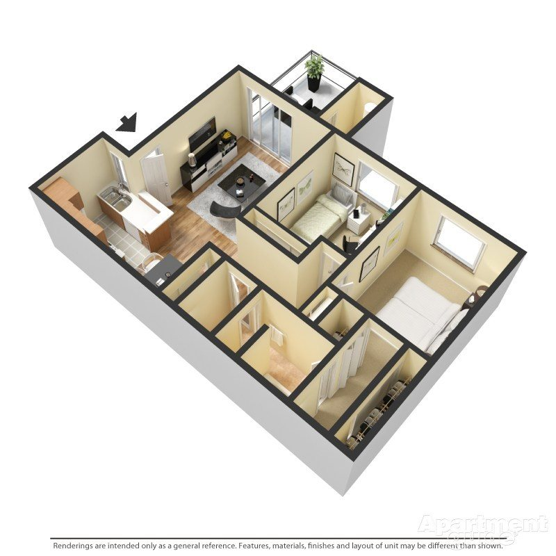 Shoreline Floor Plan 3