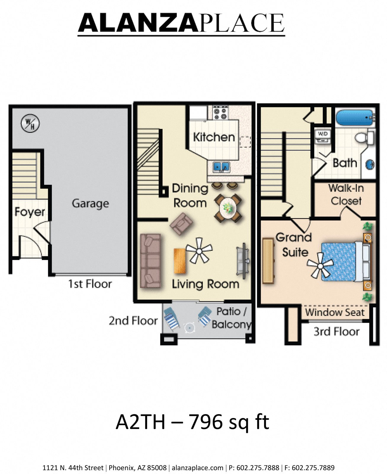 A2TH Floor Plan 2