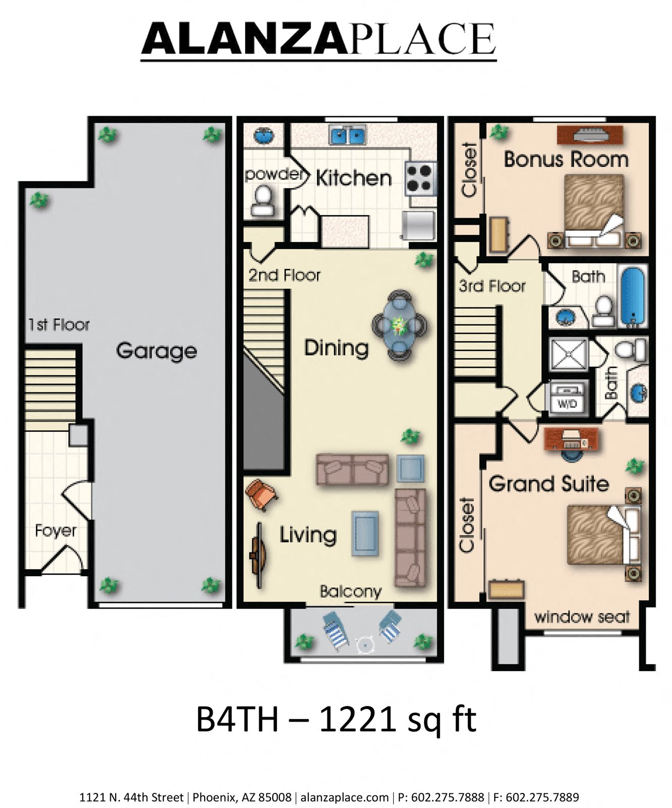 B4TH Floor Plan 9