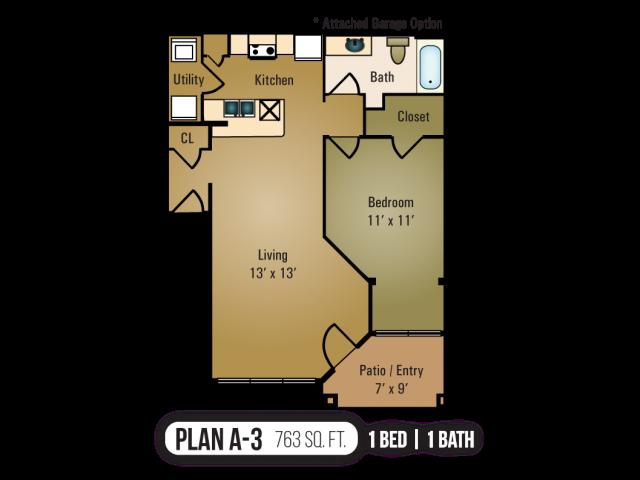 A-3 Floor Plan 3