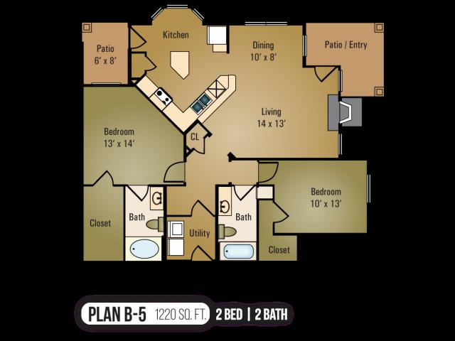 B-5 Floor Plan 8