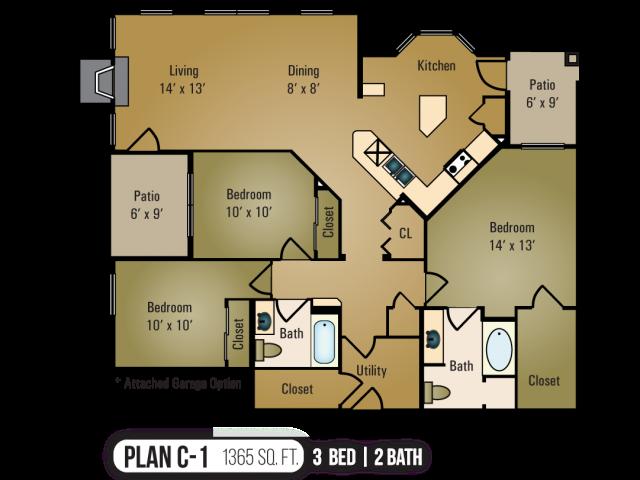C-1 Floor Plan 9