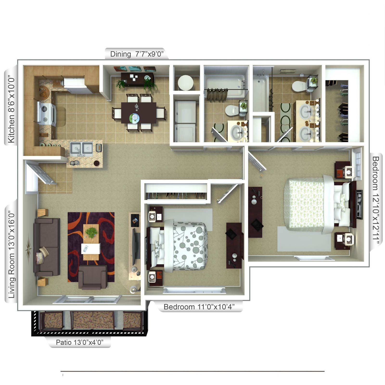 Blue Heron Floor Plan 2