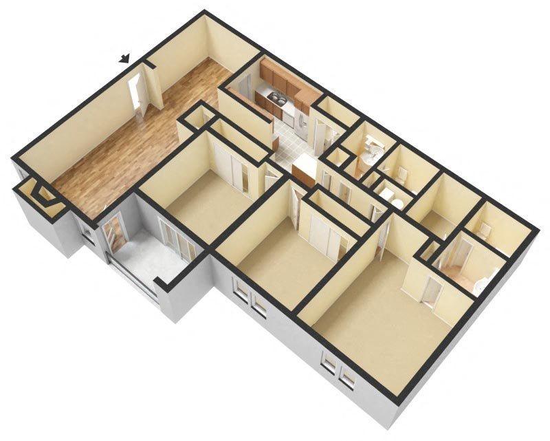 C1 Floor Plan 12