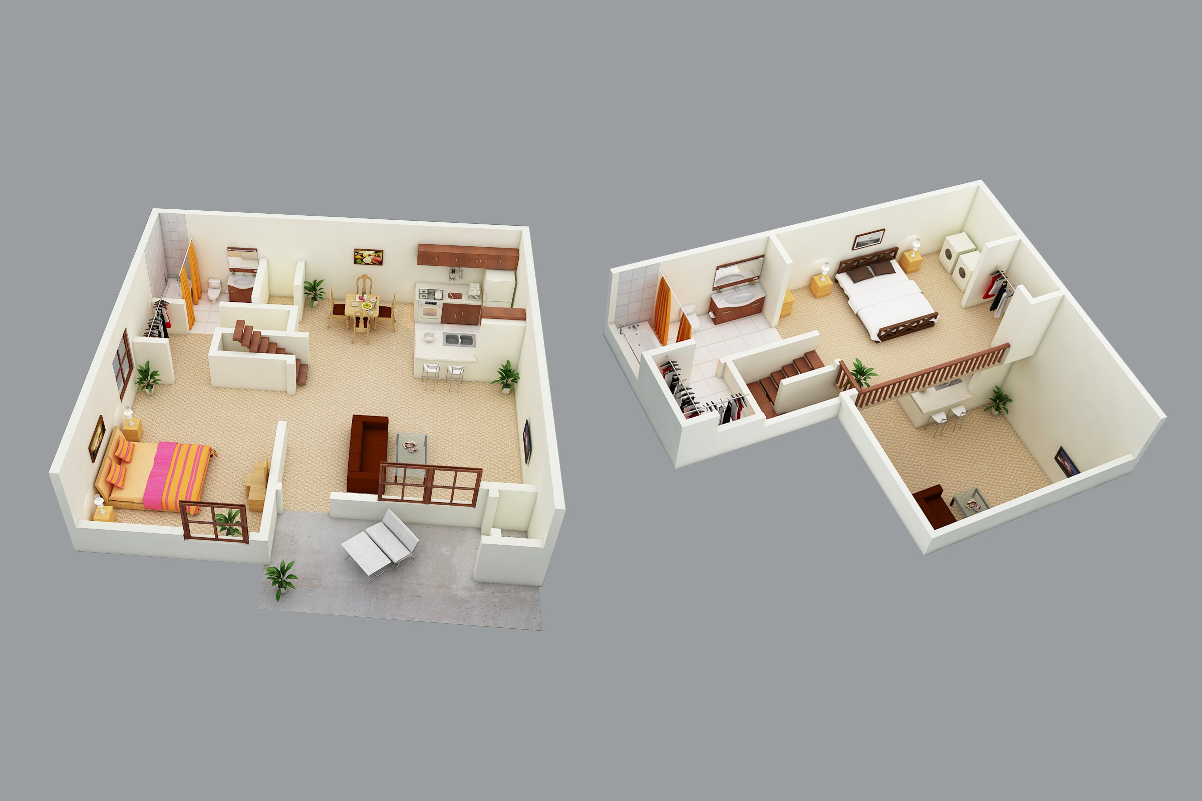 SaSanford Landing Apartments 2 bed 2 bath loft