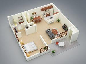 Whisper Lake apartments in winter park, orlando , florida  32792 floor plan garden