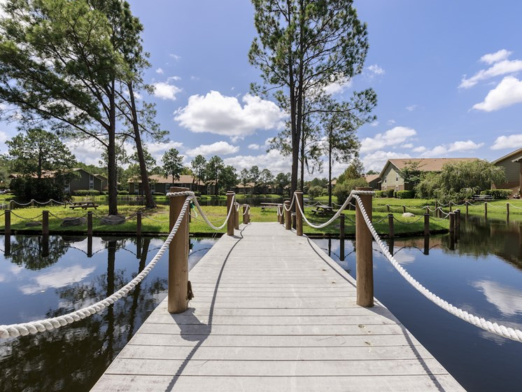 Whisper Lake Apartments in Winter Park, Florida 32792 lake bridge
