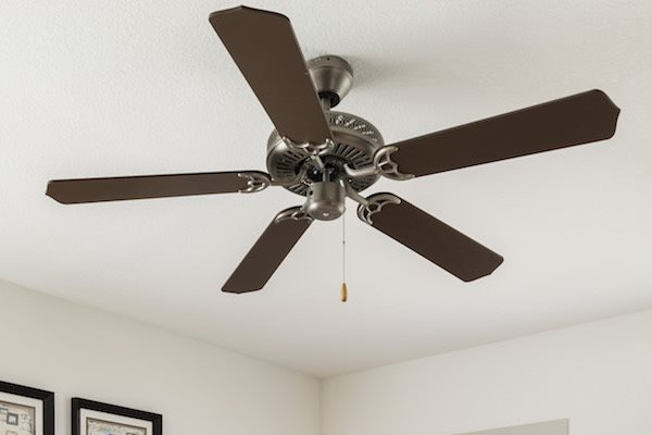 Whisper Lake apartments in winter park, orlando , florida  32792 ceiling fans in bedrooms
