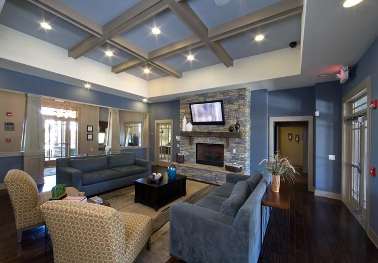 Bridgewater apartments in huntsville, al 35806 resident lounge