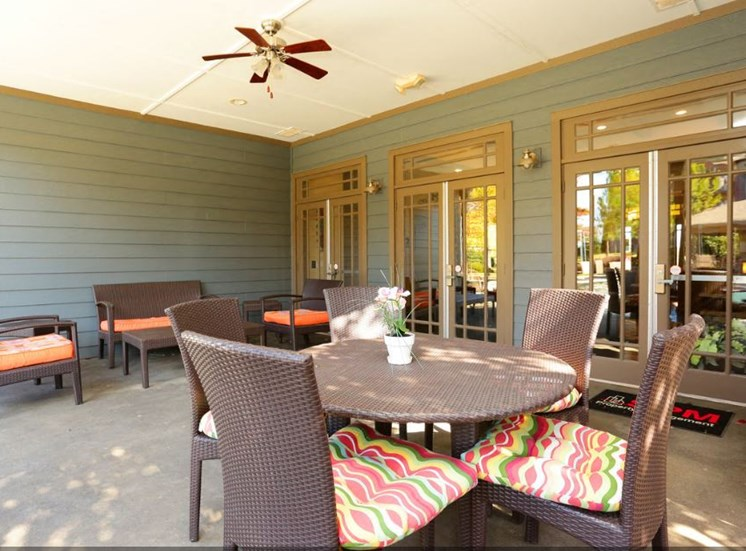 Bridgewater apartments in huntsville, al 35806 outdoor patio area