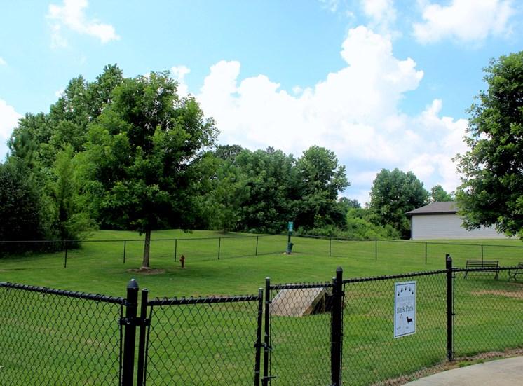 Bridgewater Apartment Homes in Huntsville, AL 35806 bark park dog park