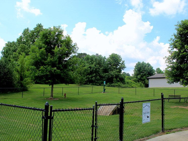 Bridgewater Apartment Homes in Huntsville, AL 35806 bark park dog park