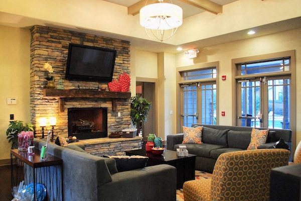 Bridgewater Apartment Homes Huntsville, AL 35806 resident clubhouse