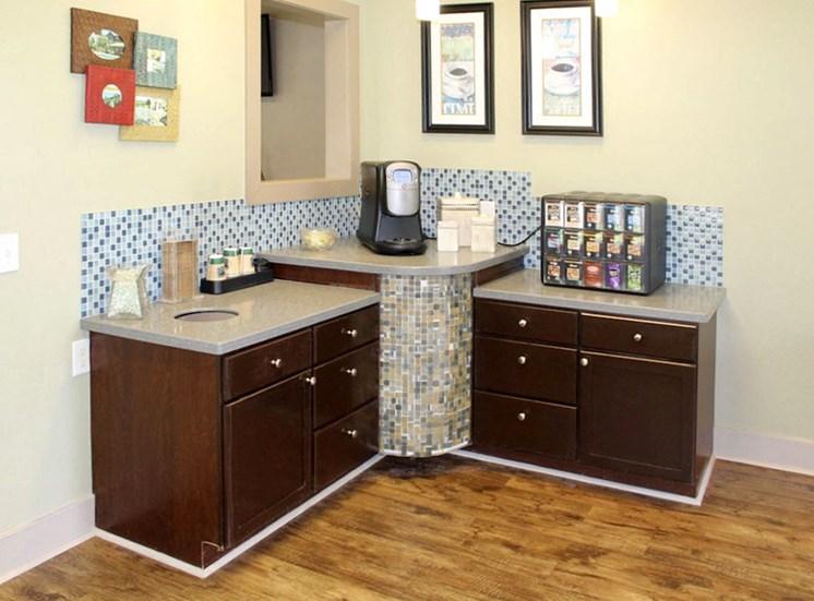 Bridgewater apartments in huntsville, al 35806 complimentary coffee bar