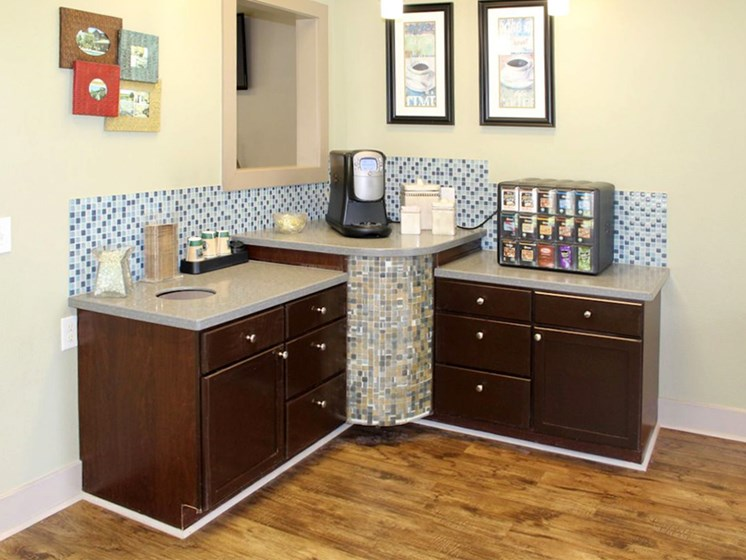 Bridgewater apartments in huntsville, al 35806 complimentary coffee bar