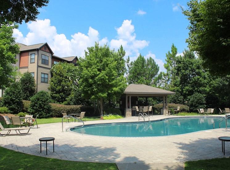 Bridgewater apartments in huntsville, al 35806 sparkling pool and large aqua deck