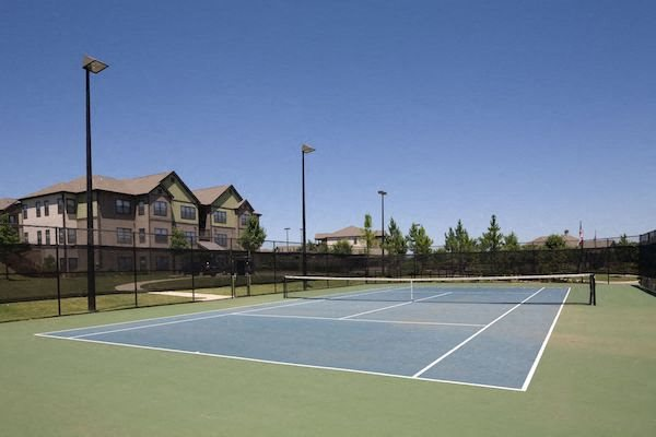 Bridgewater Apartment Homes Huntsville, AL 35806 illuminated tennis court