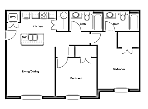 Two Bedroom - B1