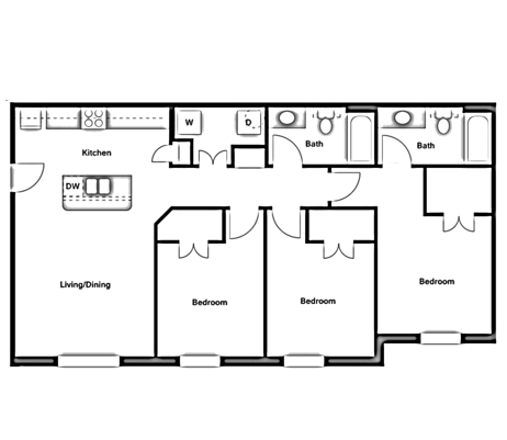 Three Bedroom - C1