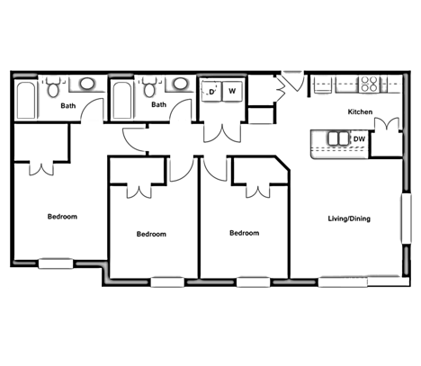 Three Bedroom - C2