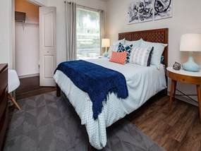 Bright and Spacious Bedrooms at Legacy at Fort Clarke apartments in Gainesville, Florida 32606