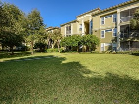 Private and gated entrance atLegacy at Fort Clarke apartments in Gainesville, Florida 32606
