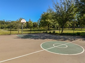 Tennis court, Basketball Court and sand volleyball at Legacy at Fort Clarke apartments in Gainesville, Florida 32606