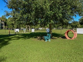 Beautifully-Landscaped Grounds at Legacy at Fort Clarke apartments in Gainesville, Florida 32606