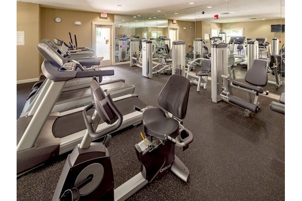 Legacy at Fort Clarke apartments in Gainesville, Florida 32606 24-hour fitness center