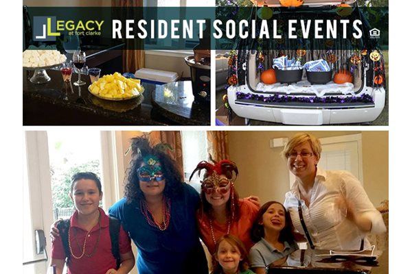 Legacy at Fort Clarke apartments in Gainesville, Florida 32606 community resident events