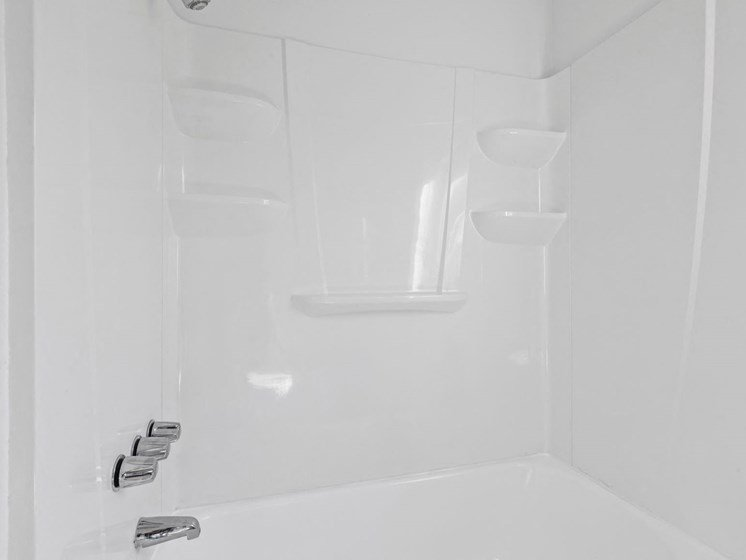 bathtub shower bathroom