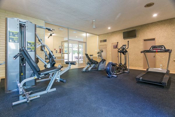 Encino Apartment Fitness Center