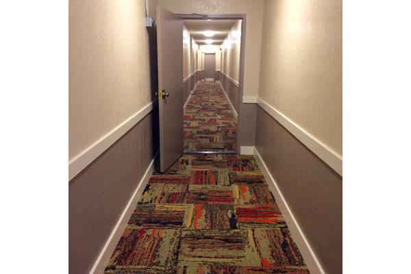 Encino Apartments Upgraded Interior Hallways