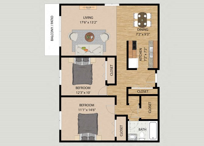 1 2 Amp 3 Bedroom Floor Plans At Westmore Apartments In