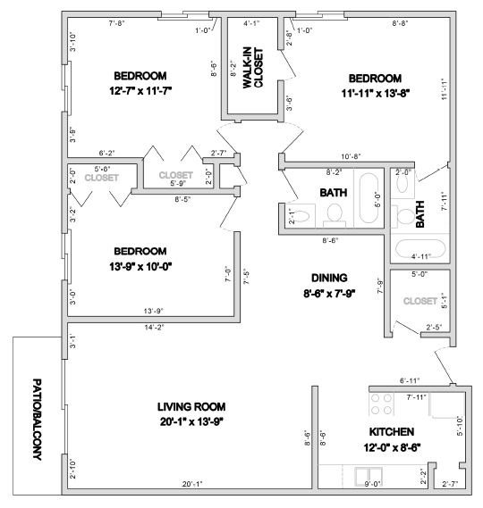 Apartments In Lombard Il: 1, 2 & 3 Bedroom Floor Plans At Westmore Apartments In
