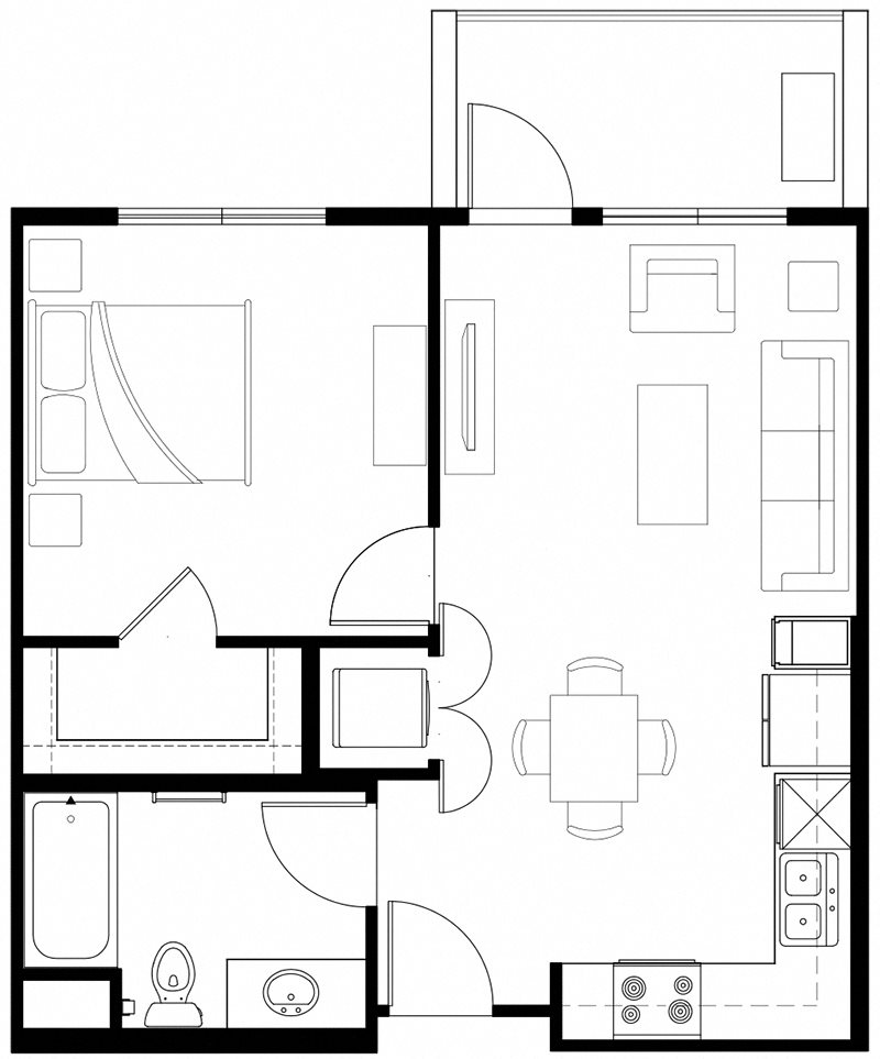 1x1 Vintage At The Crossing L Senior Apartments In Reno Nv 89521