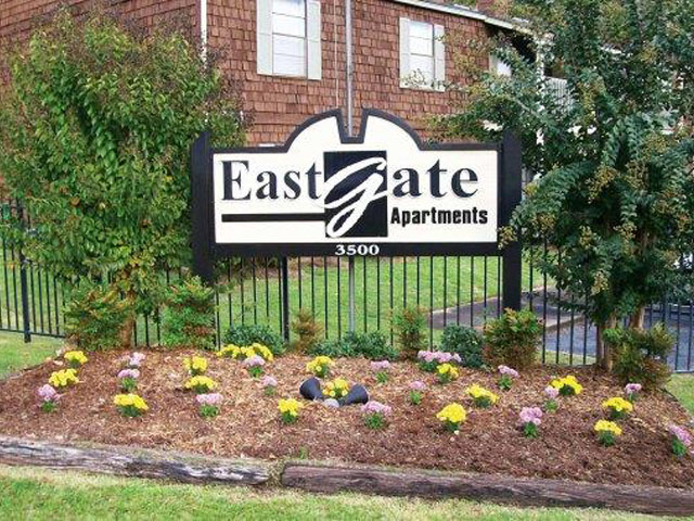 at East Gate Apartments, Meridian, Mississippi