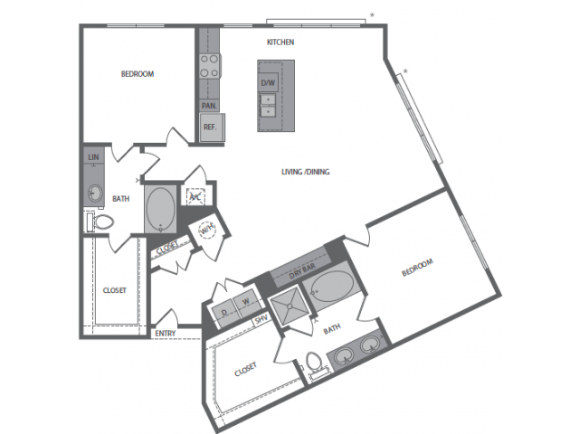 L Floor Plan 12